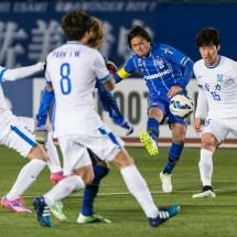 Yasuhito Endo (Gamba), February 24, 2015